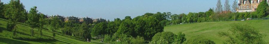 View of Braidburn Valley Park - August