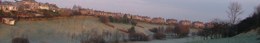 View of Braidburn Valley Park - December