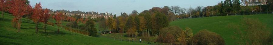 View of Braidburn Valley Park - November