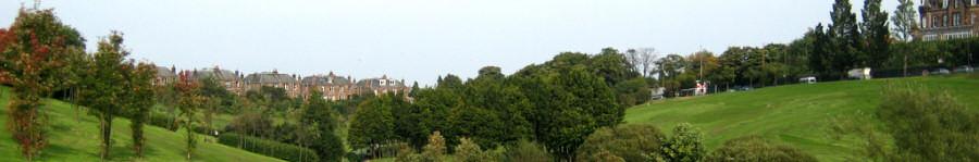 View of Braidburn Valley Park - September