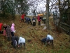 Bulb Planting at the north end of the park 2007