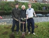 Duke of Edinburgh volunteers planting bulbs December 2007