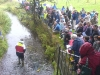 The finishing line of the Duck Race 2006