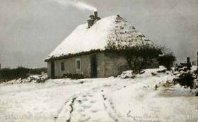Greenbank Cottage in Snow