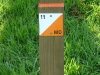 Orienteering post in Braidburn Valley Park