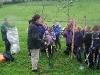 Primary 7 children planting Trees 2007