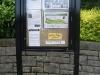 Noticeboard at main entrance