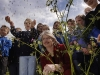 The launch of Scottish Biodiversity fortnight sowing seed at the wild flower meadow. (Photo - Edinburgh Evening News)