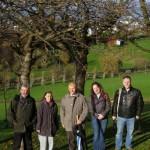 Professor János Apostol visits Bradiburn Valley Park